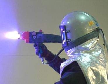 urządzenia do metalizacji natryskowej