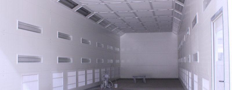 Modernistyczne Kabina do lakierowania, modernizacje komory lakiernicze SH31